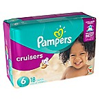 Pampers® Cruisers™ 18-Count Size 6 Jumbo Pack Disposable Diapers