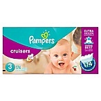 Pampers® Cruisers™174-Count Size 3 Economy Pack Plus Disposable Diapers