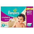 Pampers® Cruisers™ 152-Count Size 4 Economy Pack Plus Disposable Diapers