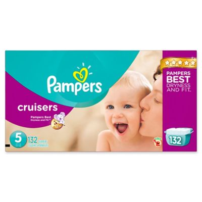 Pampers® Cruisers™ 132-Count Size 5 Economy Pack Plus Disposable Diapers