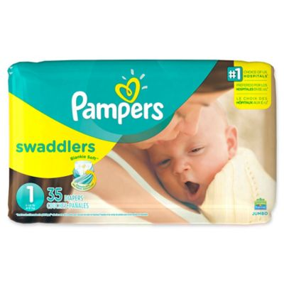 Pampers® Swaddlers™ 35-Count Size 1 Jumbo Pack Diapers