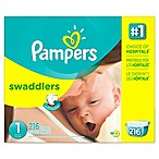 Pampers® Swaddlers™ 216-Count Size 1 Disposable Diapers
