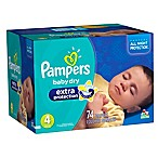 Pampers® Extra Protection™ 74-Count Size 4 Super Pack Diapers