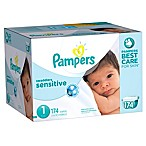 Pampers® Swaddlers Sensitive™ 174-Count Size 1 Economy Pack Plus Diapers