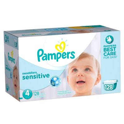 Pampers® Swaddlers Sensitive™ 128-Count Size 4 Economy Pack Plus Diapers