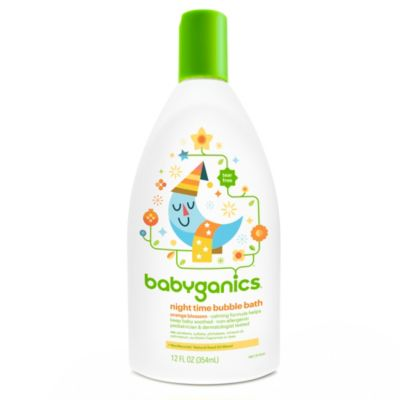 Babyganics® 12 oz. Orange Blossom Night Time Bubble Bath