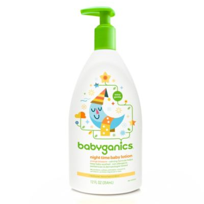 Babyganics® 12 oz. Orange Blossom Night Time Baby Lotion