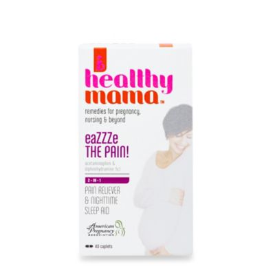 healthy mama™ 40-Count eaZZZe The Pain! Pain Reliever and Nighttime Sleep Aid Caplets