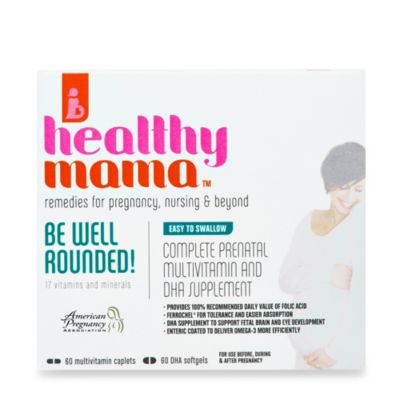 healthy mama™ 60-Count BE WELL ROUNDED! Prenatal Vitamins