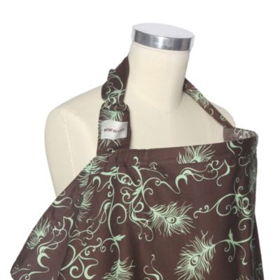 Bebe au Lait® Nursing Cover in Mint Chocolate