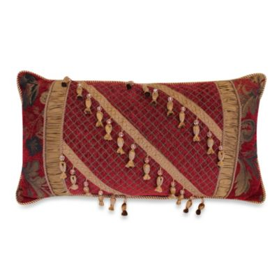 Austin Horn Classics Verona Boudoir Throw Pillow in Red