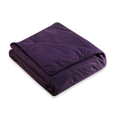 Cotton Purple Blanket