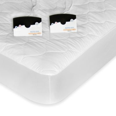 Biddeford Blankets® Quilted Heated Twin Mattress Pad with Digital Control