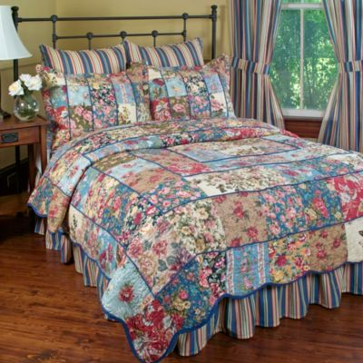 Kensington Garden Full/Queen Quilt Set