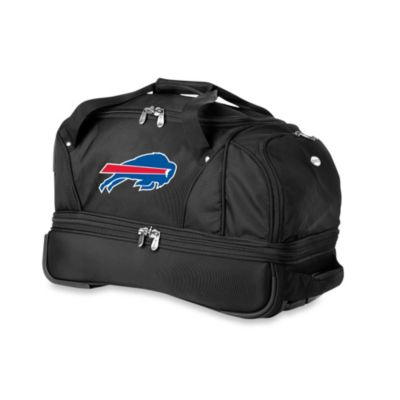 NFL Buffalo Bills 22-Inch Drop Bottom Wheeled Duffel Bag