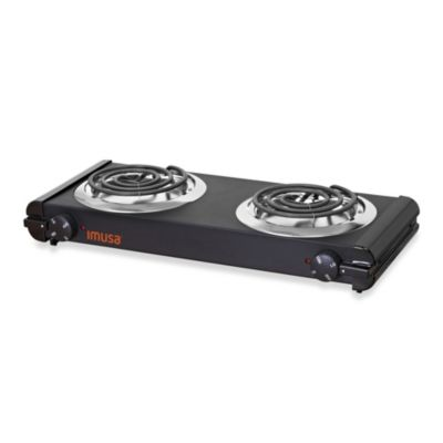 IMUSA® 1500-watt Electric Double Burner
