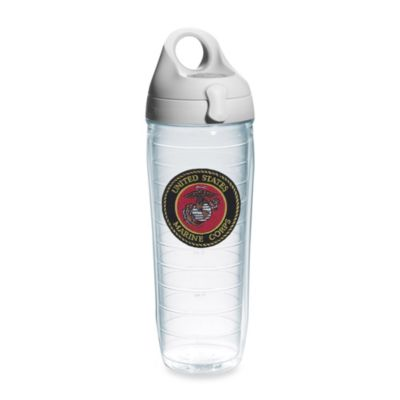Tervis® U.S. Marines 24-Ounce Emblem Water Bottle with Lid