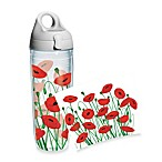 Tervis® Poppies 24-Ounce Wrap Water Bottle with Lid