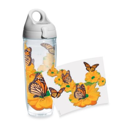 Tervis® Monarch Butterfly 24-Ounce Wrap Water Bottle with Lid