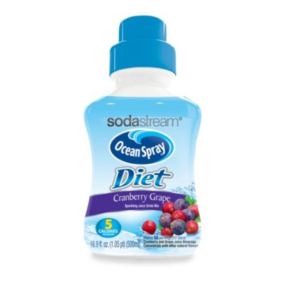 SodaStream Ocean Spray® Diet Cranberry Grape Sparkling Drink Mix