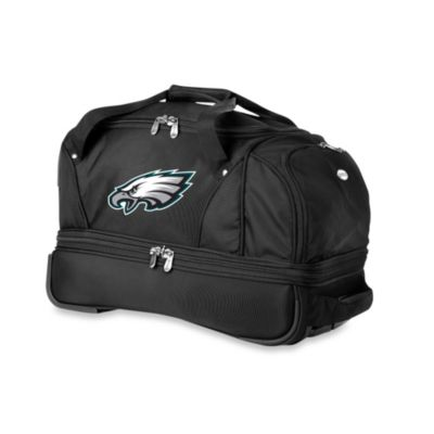 NFL Philadelphia Eagles 22-Inch Drop Bottom Wheeled Duffel Bag