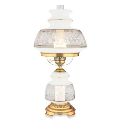 Quoizel® Large Satin Lace Table Lamp