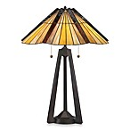 Quoizel® Tiffany Bartow 2-Light Table Lamp