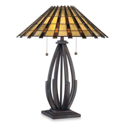 Quoizel® Tiffany Raven 2-Light Table Lamp