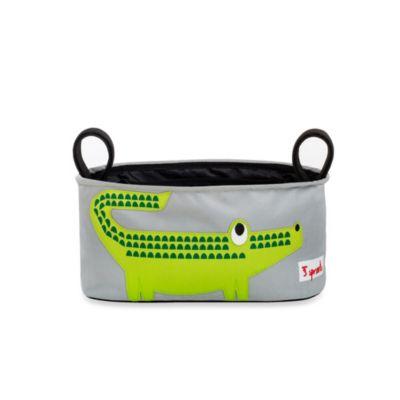 Stroller Accessories > 3 Sprouts Stroller Organizer in Crocodile