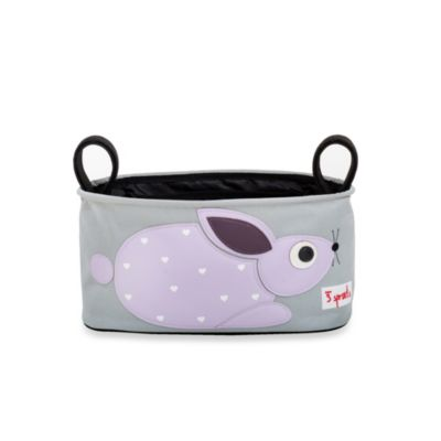 3 Sprouts Stroller Organizer in Rabbit
