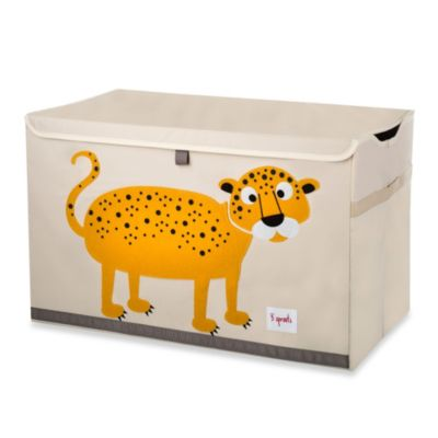 Toy Chests > 3 Sprouts Toy Chest in Leopard