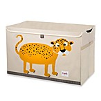 3 Sprouts Toy Chest in Leopard