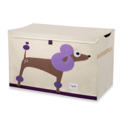 3 Sprouts Toy Chest in Poodle
