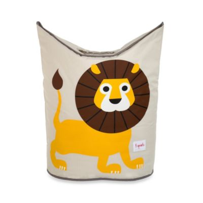 3 Sprouts Laundry Hamper in Lion