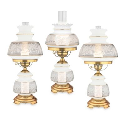 Quoizel® Small Satin Lace Table Lamp
