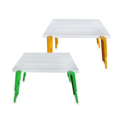 Folding Beach Table in Green