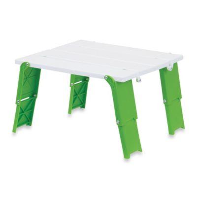 Folding Beach Table in Green