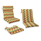 Outdoor Patio Cushion Collection in Zig Zag