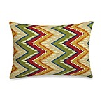 12-Inch x 16-Inch Rectangular Toss Pillow in Zig Zag
