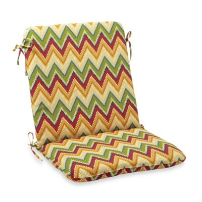Mid-Back Cushion in Zig Zag