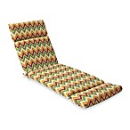 Chaise Cushion in Zig Zag