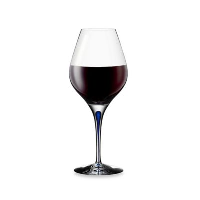Orrefors Intermezzo Blue Aroma 20-Ounce Wine Glass