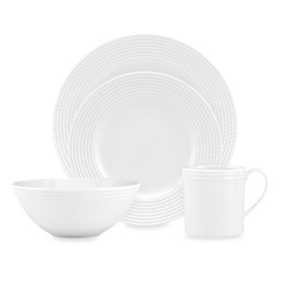 kate spade new york Wickford 4-Piece Place Setting