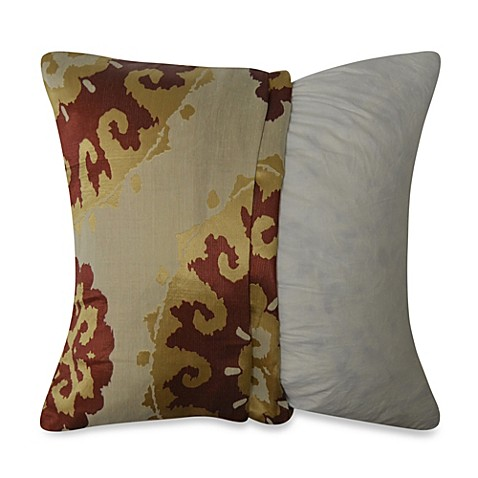Decorative Pillow Covers Bed Bath Beyond : Sun Medallion Throw Pillow Cover - Bed Bath & Beyond