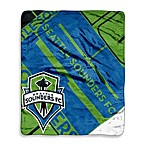 MLS Super-Plush Raschel Throw Blanket