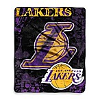 Los Angeles Lakers Super-Plush Raschel Throw Blanket