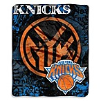 New York Knicks Super-Plush Raschel Throw Blanket