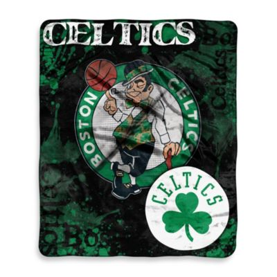 NBA Boston Celtics Super-Plush Raschel Throw Blanket
