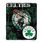 Boston Celtics Super-Plush Raschel Throw Blanket