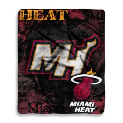 Miami Heat Super-Plush Raschel Throw Blanket